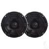 "MB Quart, 5.25"" Moisture Resistant Speakers, 50 Watt Coaxial Speakers- Set of 2"