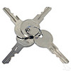 Key Switch for Universal E-Z-Go with 2 Terminal with Mixed Key Codes