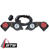 GTW LIGHT KIT, HALOGEN YAM DRIVE W/PREMIUM HARNESS