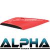 Red Alpha Series Hood Scoop for Precedent
