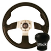 STEERING WHEEL KIT, BLACK/SPORT 13.5 W/BLACK ADAPTER, CC PRE