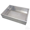 EZGO RXV Heavy Duty Diamond Plate Aluminum Utility Box Kit for EZGO Golf Cart