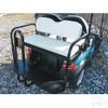 Club Car Precedent Super Saver Golf Cart Rear Flip Seat Kit for White Cushion
