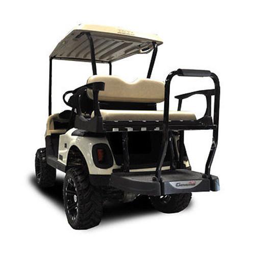 EZGO RXV Genesis 250 Golf Cart Rear Seat Kit Sandstone Cushion Set
