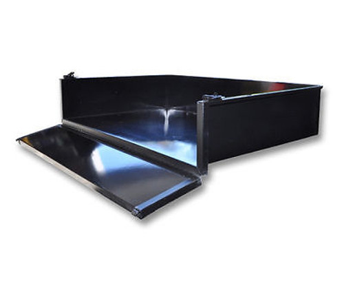 Madjax Cargo Box Black Steel for Yamaha G22   Includes hardware to mount