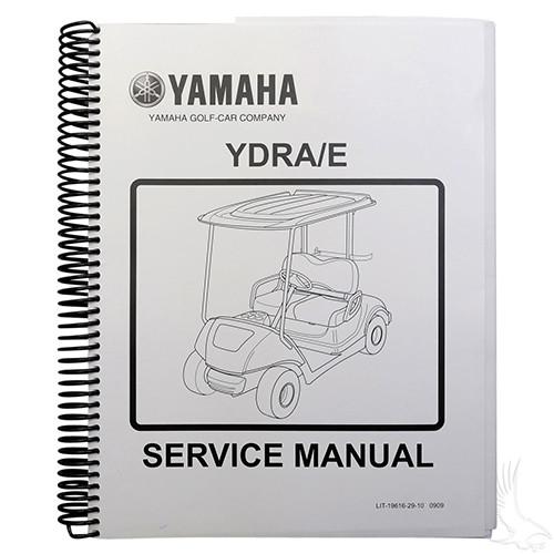 service manual, yamaha drive 07-10