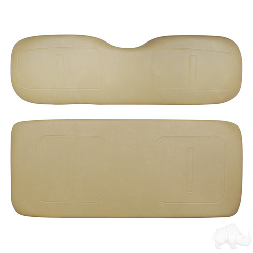 Cushion Set, RHOX Rhino Seat Tan, E-Z-Go TXT