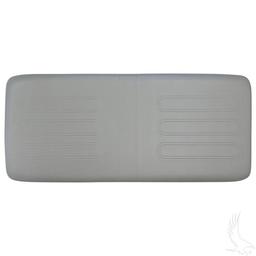 Seat Bottom Cushion, Dove Gray, Club Car Utility