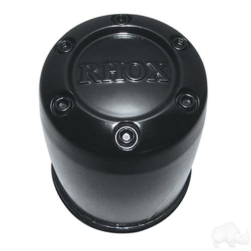 """Center Cap, RHOX Black Plastic 2.65"""""""
