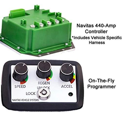 Yamaha G29/Drive Navitas 600-Amp 48-Volt Controller Kit (Years 2008-Up)