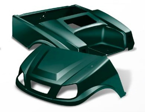 DoubleTake Titan Golf Cart Body Kit for EZGO TXT Green
