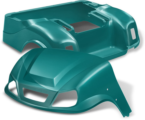 DoubleTake Titan Golf Cart Body Kit for EZGO TXT Teal