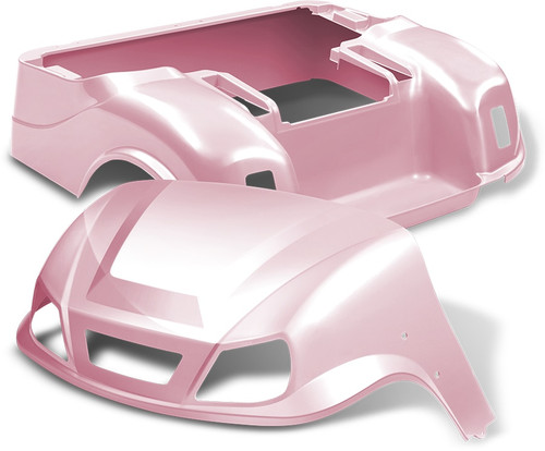 DoubleTake Titan Golf Cart Body Kit EZ-GO TXT Pink