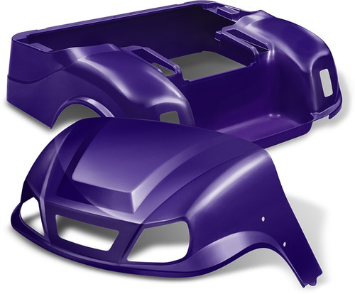 DoubleTake Titan Golf Cart Body Kit EZGO TXT Purple