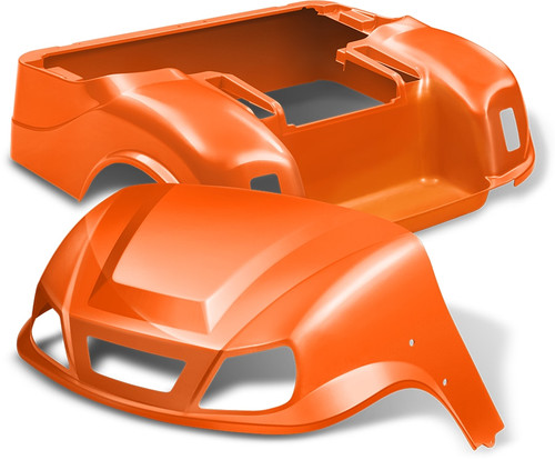 DoubleTake Titan Golf Cart Body Kit EZGO TXT Orange