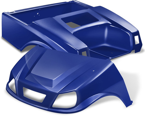 DoubleTake Spartan Golf Cart Body Kit for Club Car DS Blue