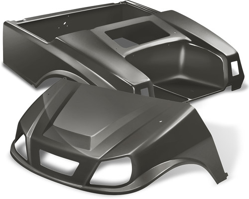 DoubleTake Spartan Golf Cart Body Kit for Club Car DS Graphite NEW!