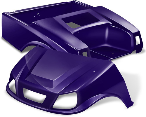 DoubleTake Spartan Golf Cart Body Kit for Club Car DS Purple