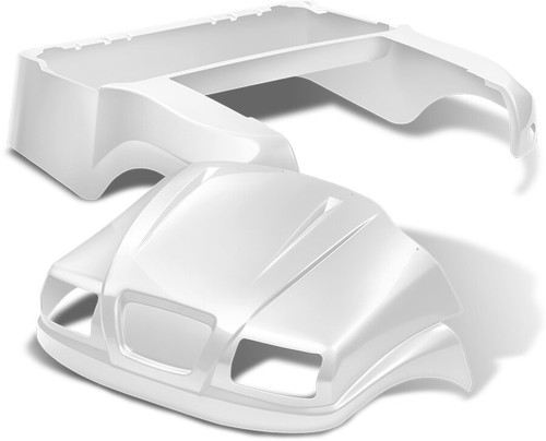 DoubleTake Phantom Golf Cart Body Kit For Club Car Precedent White