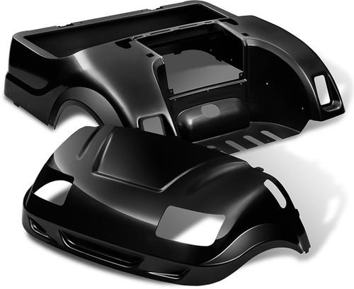 DoubleTake Vortex Golf Cart Body Kit for Yamaha Drive Black