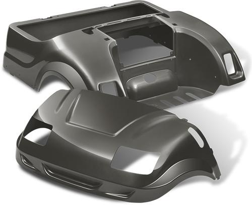 DoubleTake Vortex Golf Cart Body Kit for Yamaha Drive Graphite