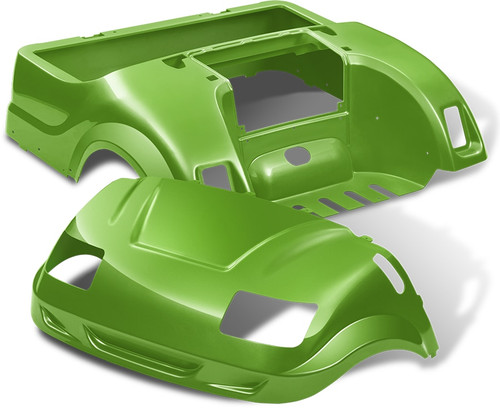 DoubleTake Vortex Golf Cart Body Kit for Yamaha Drive Lime