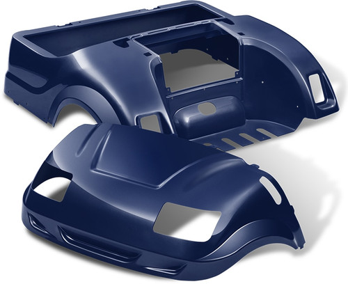 DoubleTake Vortex Golf Cart Body Kit for Yamaha Drive Navy