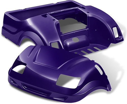 DoubleTake Vortex Golf Cart Body Kit for Yamaha Drive Purple