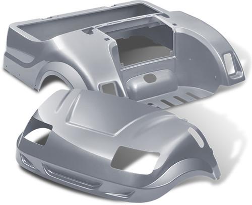 DoubleTake Vortex Golf Cart Body Kit for Yamaha Drive Silver