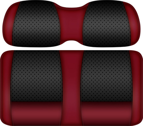 Doubletake Clubhouse Edition  Front Seat Cushion Set Ruby-Black