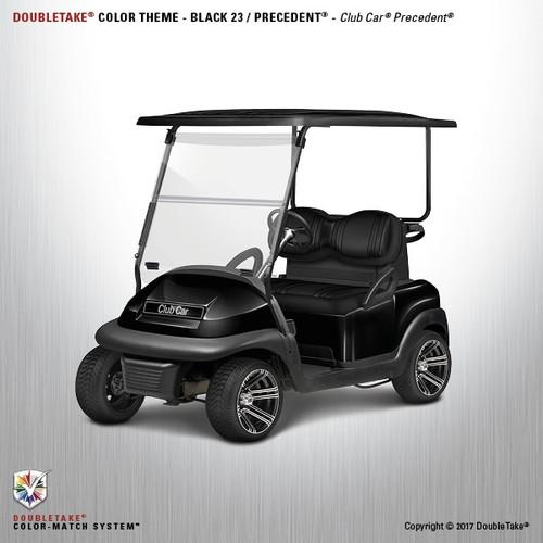 DoubleTake Club Car Precedent Body Kit Factory Style Black