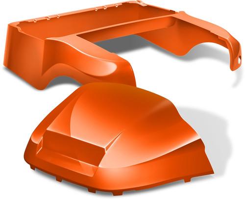 DoubleTake Club Car Precedent Body Kit Factory Style Orange