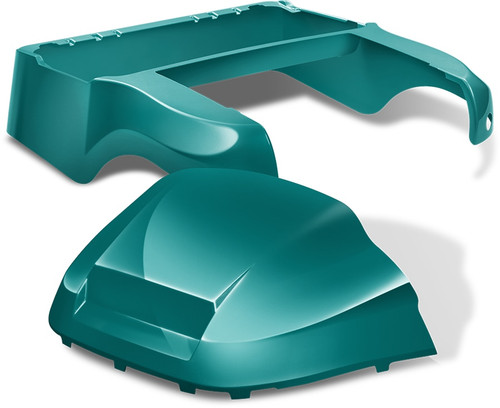 DoubleTake Club Car Precedent Body Kit Factory Style Teal