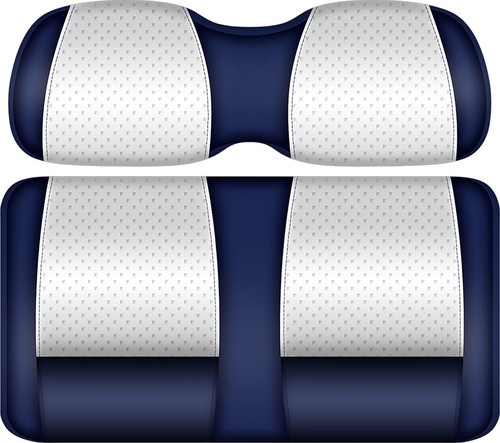 Doubletake Clubhouse Edition  Front Seat Cushion Set Navy-White