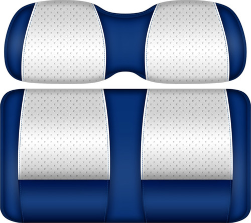 Doubletake Clubhouse Edition  Front Seat Cushion Set White-Blue
