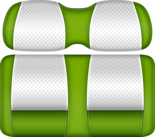 Doubletake Clubhouse Edition  Front Seat Cushion Set White-Lime