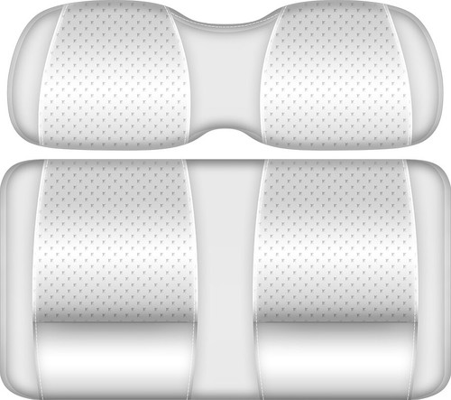Doubletake Clubhouse Edition  Front Seat Cushion Set White-White