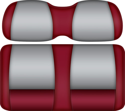 Doubletake FANatic Edition Front Seat Cushion Set Crimson-Gray