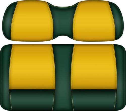 Doubletake FANatic Edition Front Seat Cushion Set Green-Maize