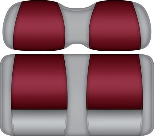 Doubletake FANatic Edition Front Seat Cushion Set Gray-Crimson