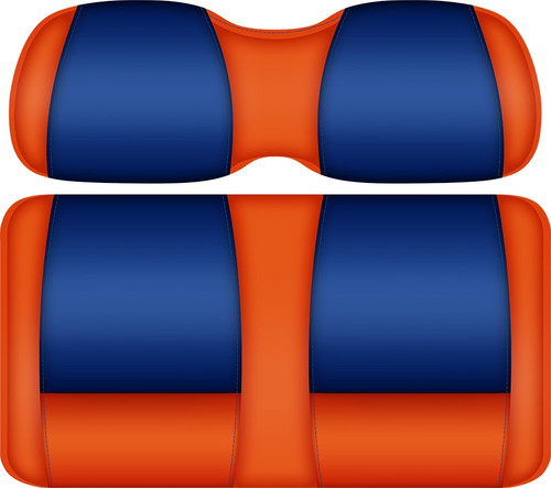 Doubletake FANatic Edition Front Seat Cushion Set Orange-Royal - FLORIDA GATORS
