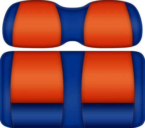 Doubletake FANatic Edition Front Seat Cushion Set Royal-Orange - FLORIDA GATORS