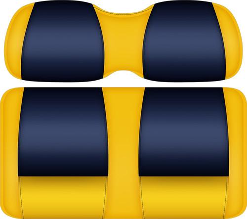 Doubletake FANatic Edition Front Seat Cushion Set Sun-Navy