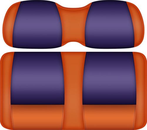 Doubletake FANatic Edition Front Seat Cushion Set Tangerine-Purple