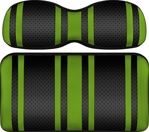 Doubletake Extreme X2 Front Seat Cushion Assembly Black-Lime