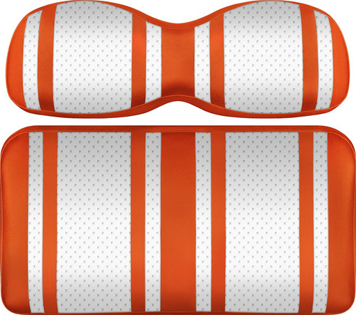 Doubletake Extreme X2 Front Seat Cushion Assembly White-Orange