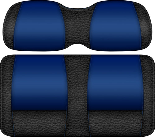 Double Take Veranda Edition Golf Cart Seat Black-Blue