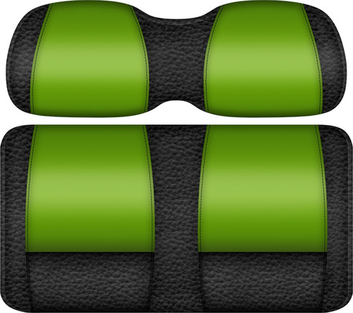 Double Take Veranda Edition Golf Cart Seat Black-Lime
