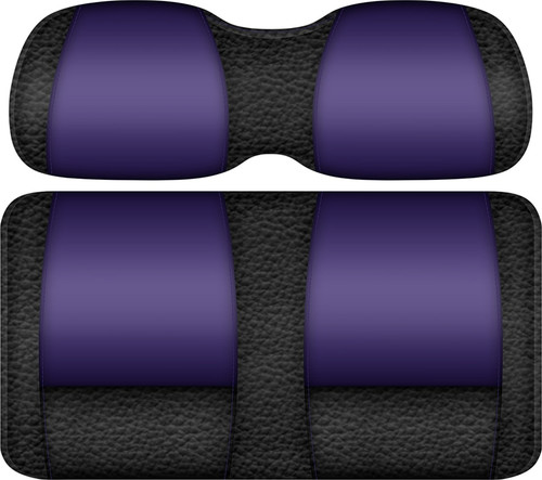 Double Take Veranda Edition Golf Cart Seat Black-Purple