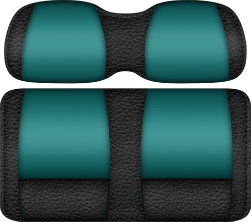 Double Take Veranda Edition Golf Cart Seat Black-Teal